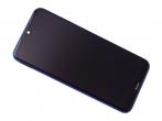5600030C3X00 - Obudowa przednia z ekranem dotykowym i wyświetlaczem Xiaomi Redmi Note 8T - niebieska (oryginalna)