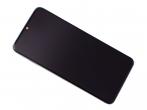 56000500G700 - Obudowa przednia z ekranem dotykowym i wyświetlaczem Xiaomi Redmi Note 8 Pro - Tarnish/ black (orygi...