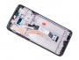 56000500G700 - Obudowa przednia z ekranem dotykowym i wyświetlaczem Xiaomi Redmi Note 8 Pro - Tarnish/ black (oryginalna)