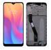 5600050J1900  - Original Front cover with touch screen and LCD display Xiaomi Redmi 9 - black