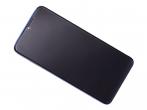 56000G00G700 - Obudowa przednia z ekranem dotykowym i wyświetlaczem Xiaomi Redmi Note 8 Pro - niebieska (oryginalna...