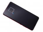560910014033 - ORYGINALNY Wyświetlacz LCD + ekran dotykowy Xiaomi Mi 9T - czerwony