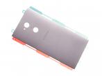 78PC2500010 - Klapka baterii Sony H3212, H3223, H4213, H4223 Xperia XA2 Ultra - srebrna (oryginalna)