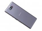 78PD0300020  - Klapka baterii Sony I3113, I3123, I4113, I4193 Xperia 10 - srebrna (oryginalna)