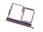 ABN75218203 - Szufladka karty SIM i SD LG H870 G6 - biała (oryginalna)