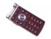 ACQ88511121, ACQ88704101 - Obudowa przednia LG H410 Wine - czerwono czarna (oryginalna)