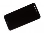 ACQ89404801, ACQ89576601, ACQ89601401 - Obudowa przednia z ekranem dotykowym i wyświetlaczem LG M250 K10 (2017) - czarna (oryginlana)