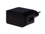 Adapter ładowarka sieciowa USB HEDO 2.1A - czarna (oryginalna)