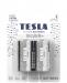 Alkaline batteries TESLA C/LR14/1,5V 2pcs SILVER+