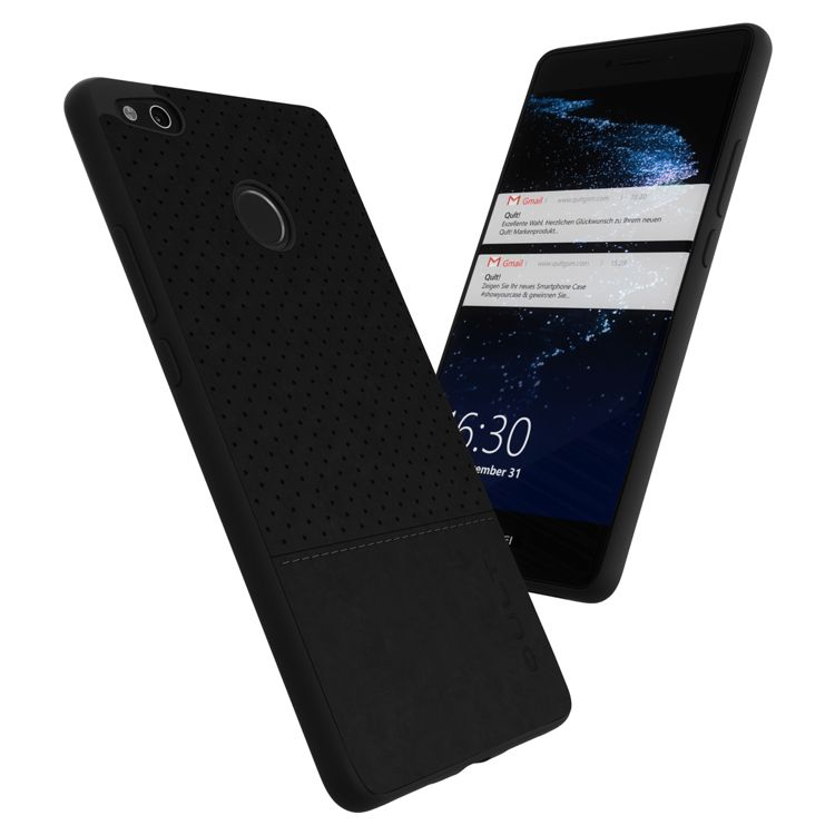 newest 05c39 d072d Back Case Qult Drop Huawei P8/P9 Lite 2017 black