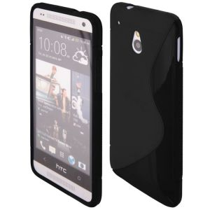 brand new 90039 39014 BACK COVER S-CASE HTC ONE Mini SOLID BLACK