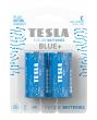 Bateria cynkowo-wodorowa TESLA C/R14/1,5V 2szt BLUE+