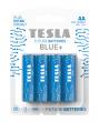 Baterie cynkowo-węglowe TESLA AA/R6/1,5V 4szt BLUE+