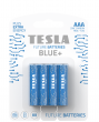 Baterie cynkowo-węglowe TESLA AAA/R03/1,5V 4szt BLUE+