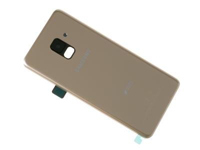timeless design 7e69e d0db5 Battery cover Samsung SM-A530F Galaxy A8 (2018) - gold (original)