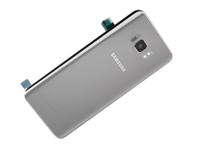 cheap for discount 3ffe0 01c89 Battery cover Samsung SM-G955 Galaxy S8 Plus - silver (original)