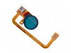 C/76730003900 - Taśma z czytnikiem linii papilarnych Sony H3212, H3223, H4213, H4223 Xperia XA2 Ultra - złota (orygi...