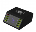 Charger - 8x USB charging station + induction charging