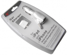 Charger car iPhone 3G/ 3GS/ 4/ 4S - white