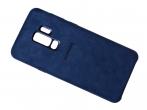 EF-XG965ALEGWW - Etui Alcantara Cover EF-XG965ALEGWW Samsung SM-G965 Galaxy S9 Plus - niebieskie (oryginalne)