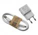 ETAU90EWE - Ładowarka ETAU90EWE z kablem  ECB-DU4AWE Samsung - biała (oryginalna)