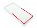 Etui Creative Huawei P20 biało-czerwone
