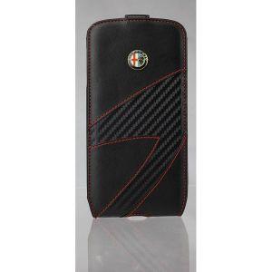 11157 - Etui FlipCase AlfaRomeo Samsung i9500 S4 czarne