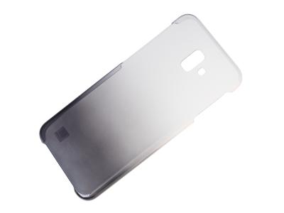 EF-AJ610CBEGWW - Etui Gradation Cover Samsung SM-J610 Galaxy J6 Plus (2018) - czarne (oryginalne)
