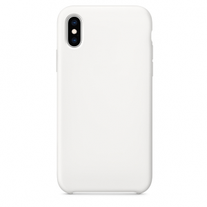 9 - Etui silikonowe Iphone X/XS białe