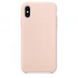 Etui silikonowe Iphone XR pudrowy róż