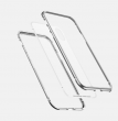 Etui tylne z magnetyczną ramką 360 iPhone X / XS srebrny Baseus ( WIAPIPHX-CS0S )
