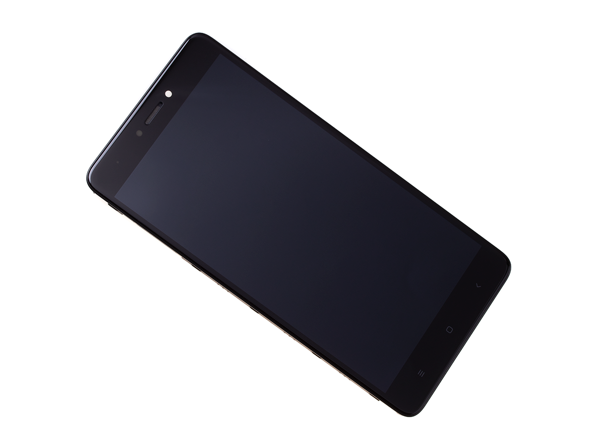 buy popular 18300 88db2 Front cover with touch screen and LCD display Xiaomi Redmi Note 4 - black  (original)