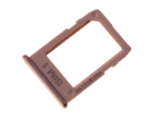GH64-07066E - Szufladka karty nanoSIM Samsung SM-J415 Galaxy J4 Plus - złota (oryginalna)