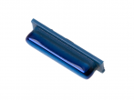 GH64-07099D - Przycisk boczny Samsung SM-A750 Galaxy A7 (2018) - niebieski (oryginalny)