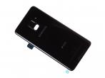 GH82-15557A - Klapka baterii Samsung SM-A530F Galaxy A8 (2018) - czarna (oryginalna)