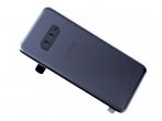 GH82-18452A-DEM - Oryginalna Klapka baterii Samsung SM-G970 Galaxy S10e - czarna (demontaż) Grade A
