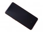 GH82-20348C,  GH82-20390C, GH82-20368C - Oryginalny Wyświetlacz LCD + Ekran Dotykowy Samsung SM-A805 Galaxy A80 + ramka złota