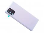 GH82-21670B - Oryginalna Klapka bateri Samsung SM-G770 Galaxy S10 Lite - Prism White