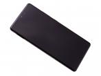GH82-21672A  - ORYGINALNY Wyświetlacz LCD + ekran dotykowy Samsung SM-G770 Galaxy S10 Lite - czarny