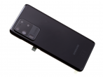GH82-22217A - Oryginalna Klapka baterii Samsung SM-G988 Galaxy S20 Ultra - czarna
