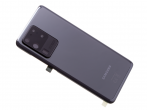 GH82-22217B - Oryginalna Klapka baterii Samsung SM-G988 Galaxy S20 Ultra - szara