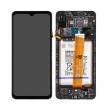 GH82-24708A, GH82-24709A - ORYGINALNY Wyświetlacz LCD + ekran dotykowy + bateria Samsung SM-A125 Galaxy A12 - czarny