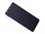 GH96-12078A - Ekran dotykowy z wyświetlaczem LCD Samsung SM-A750 Galaxy A7 (2018) - czarny (oryginalny)