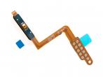 GH96-12118A - Taśma z przyciskiem linii papilarnych Samsung SM-A750 Galaxy A7 (2018) - niebieska (oryginalna)