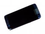 GH97-18533G, GH97-18767G - Obudowa przednia z ekranem dotykowym i wyświetlaczem LCD Samsung SM-G935F Galaxy S7 Edge - niebieska...