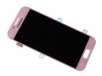 GH97-19732D, GH97-19753D - Ekran dotykowy z wyświetlaczem LCD Samsung SM-A320F Galaxy A3 (2017) - różowy (oryginalny)