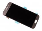 GH97-19733B - Ekran dotykowy z wyświetlaczem LCD Samsung SM-A520F Galaxy A5 (2017) - złoty (oryginalny)