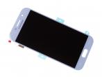 GH97-19733C - Ekran dotykowy z wyświetlaczem LCD Samsung SM-A520F Galaxy A5 (2017) - niebieski (oryginalny)