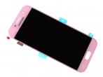 GH97-19733D, GH97-20135D - Ekran dotykowy z wyświetlaczem LCD Samsung SM-A520F Galaxy A5 (2017) - różowy (oryginalny)