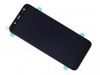 GH97-22048A, GH97-21931A - Ekran dotykowy z wyświetlaczem LCD Samsung SM-J600 Galaxy J6 - czarny (oryginalny)